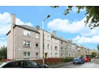 Superb, spacious, furnished, one bedroom, first floor corner flat available in Stenhouse area