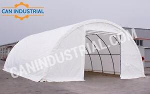 Saskatchewan Portable Fabric Storage Building 20x30x12 and 30x40x15