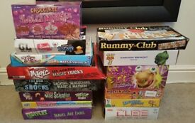 14 GAMES & CREATIVE ACTIVITY TOYS BUNDLE. GOOEY LOUIE, THE CUBE, TMNT, TOY STORY 3, DISNEY