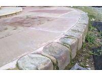 Garden - Edging - Cobbles - Block paving - Stone