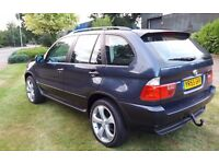 BMW X5 3.0D MANUAL 6 SPEED 2005 55, 82800 MILES, SERVICE HISTORY WITH RECEIPTS,