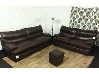New leather G plan 3+2 seater sofas *free delivery*