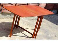 Rare Vintage Swedish Designed Folding Table