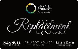 WANTED - SIGNET CARD, E VOUCHER, JEWELLERY INSURANCE VOUCHER, LMG CARD , GEMCHECK, ERNEST JONES
