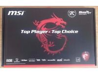 MSI GT72 2QE Dominator Pro Gaming Laptop BOX *box only*