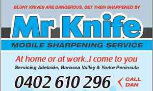 Mr Knife - Mobile Sharpening Service Para Hills Salisbury Area Preview