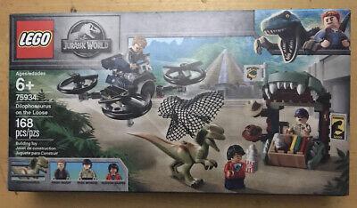 LEGO Set 75934 Jurassic World Dilophosaurus on the Loose