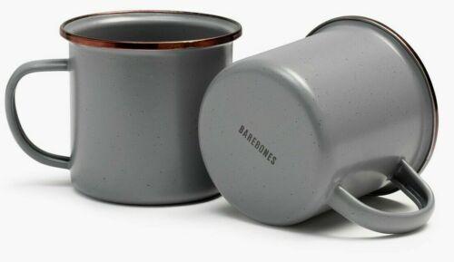 Barebones Living Enamel Espresso Cup Set Stainless Steel Construction BARE375