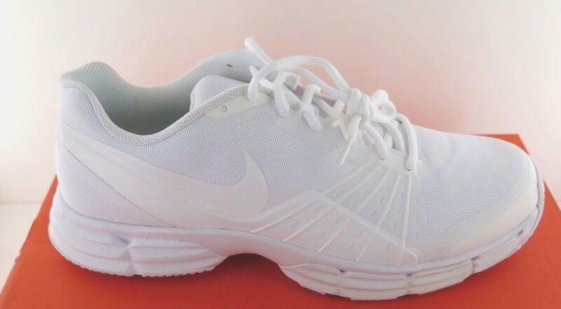Nike Dual Fusion TR 5 - White Mens Athletic Shoe - NWD - Medium