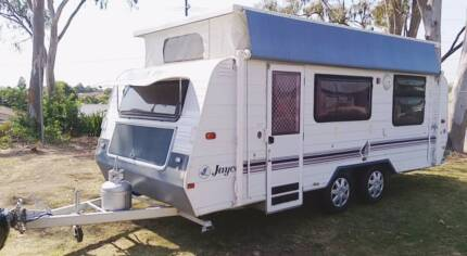JAYCO 18ft CARAVAN, ROLL OUT AWNING, DUAL AXLE, DOUBLE BED