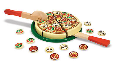 Pizza Fête Bois Jouets Nourriture Jouet #167 ~ Melissa & And Doug