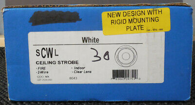 System Sensor Scwl White Ceiling Strobe