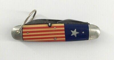 Vintage 1920s Remington UMC Red White & Blue Boy Scout Pocket Knife R3335