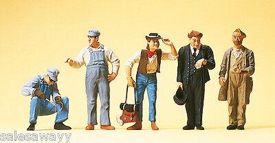 Preiser 65342 US-Gleisbauarbeiter, Schaffner, Spur 0