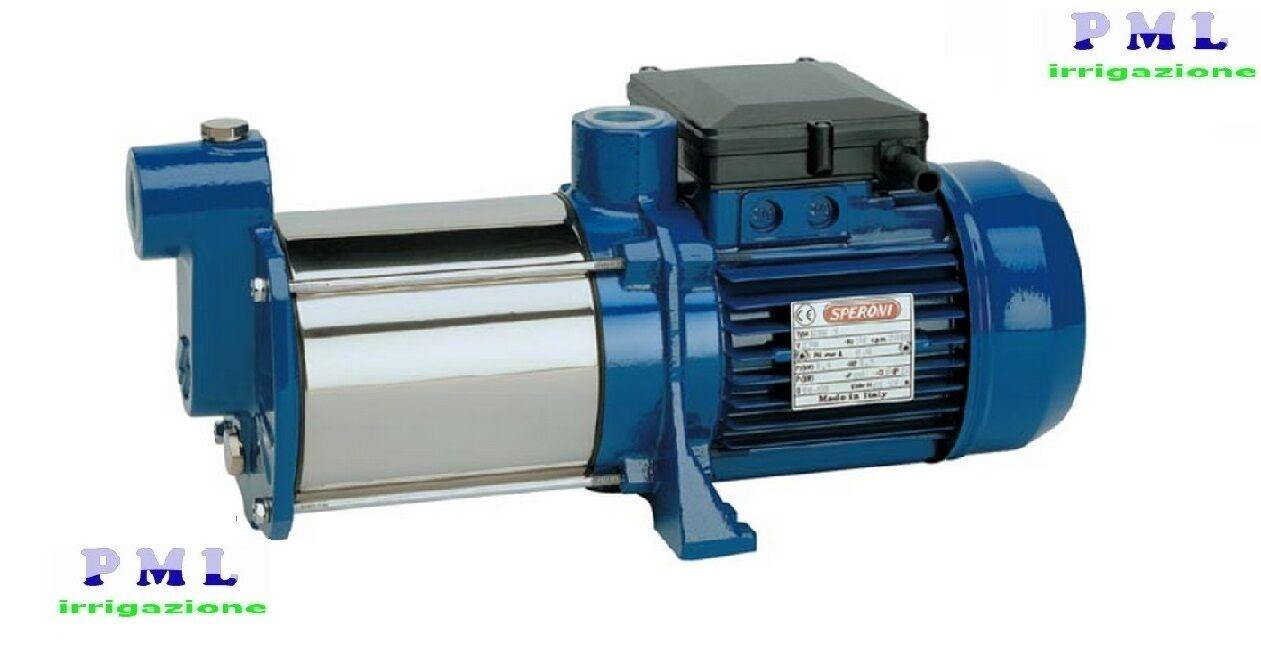 Elettropompa Pompa Centrifuga multigirante  RSM 4 HP 1 SPERONI