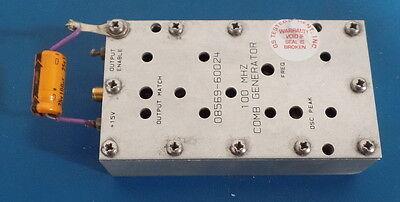 Hp Agilent Keysight 08569-60024 Comb Generator 100 Mhz
