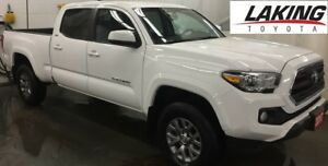 """2017 Toyota Tacoma SR5 4X4 DOUBLE CAB """"WITH EXTENDED WARRANTY"""" C"""