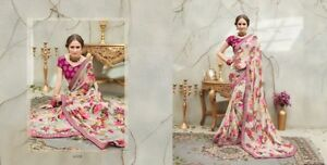 Floral Georgette saree