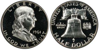 1961 Franklin Half Dollar (1961 Franklin Half Dollar Choice)