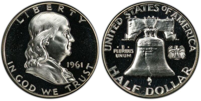 1961 Franklin Half Dollar Choice Proof