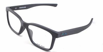 New Oakley RX Prescription Frame Fenceline Satin Pavement 53-16-136 #0X8069-0853