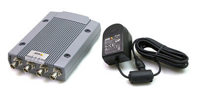 0417-001-01 Axis P7214 4-channel Video Encoder With Power Supply New
