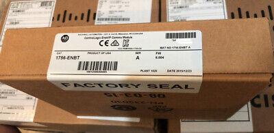 New Sealed Allen Bradley 1756-enbt Ser A Ethernetip Controllogix Module