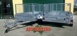Box Trailer Hot Dip Galvanized 8x5 Heavy Duty! Clontarf Redcliffe Area Preview