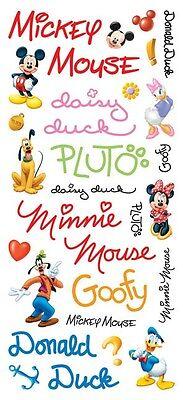 Mickey Scrapbooking Stickers - Scrapbooking Crafts Stickers Disney 13