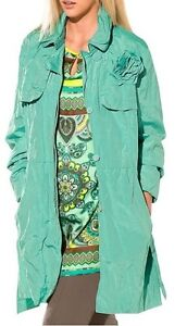 jacke trench jacke betty barclay crush mint gr 42 ebay. Black Bedroom Furniture Sets. Home Design Ideas