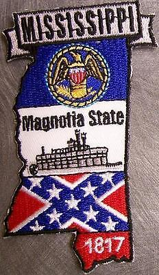 Embroidered USA State Patch Mississippi NEW montage