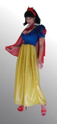 SS4U Sequined Fairy Tale Princess Long Gown Costume  Dress Cape 1x