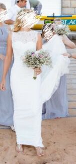 Absolutely stunning Pronovias Oreste wedding dress for sale