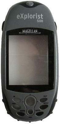 Magellan Explorist 500 Handheld Gps Replacement Front Cover Plastics -
