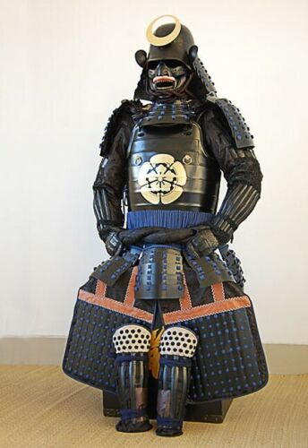 Replica of Wearable Japanese Samurai Armor Yoroi Life Size Iron Suit Rüstung SWT