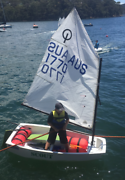 Optimist Sailing Dinghy - Ready to set sail! Northbridge Willoughby Area Preview