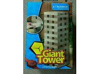 Giant Jenga bricks game