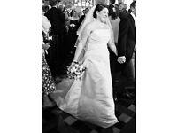 ANU PAM Classic Wedding Dress Size 16