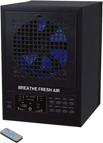 Air Purifier Breathe Fresh Air Cleaner Ozone Generator w/ timer PCO CELL