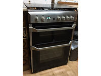 Indesit ID60G2X Gas Cooker - Stainless Steel