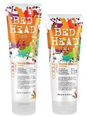 Dumb Blonde Shampoo Conditioner (Tigi Colour Combat Dumb Blonde Shampoo and Conditioner Duo 8.45/6.76 oz )