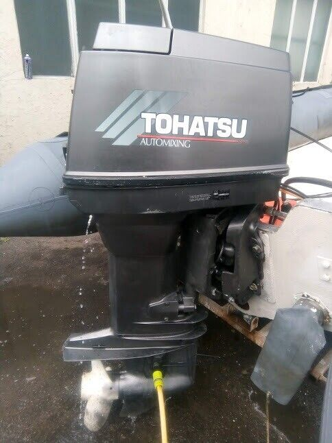 Outboard Tohatsu 90hp 2 stroke for Rib boat speed boat fishing boat | in  Ash, Hampshire | Gumtree