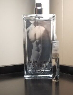 5mL Abercrombie & Fitch Fierce cologne.17oz Sample Trial glass atomizer FREESHIP for sale  Lakeville