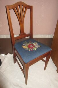 Antique Side Chair and Other Chairs