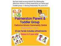 Palmerston Toddler and Parent Group