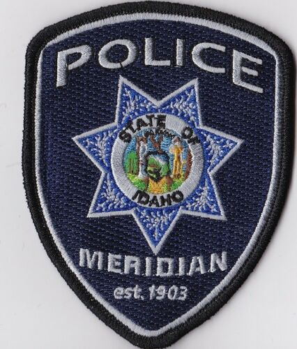 Meridian Police Patch Idaho ID