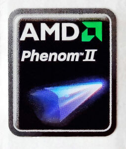 AMD-Phenom-II-Sticker-17-x-21mm-Case-Badge-Logo-Label-USA-Seller