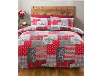 Red Alpine Duvet Set