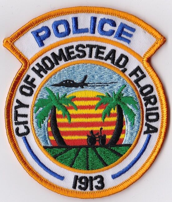 City of Homestead Police patch Florida