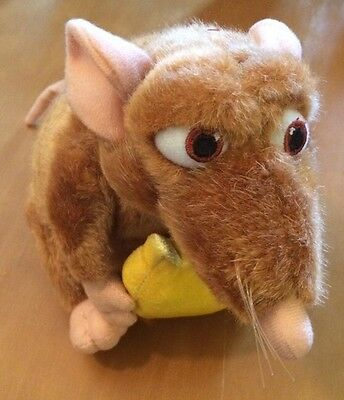 Disney Ratatouille Emile with Cheese Plush